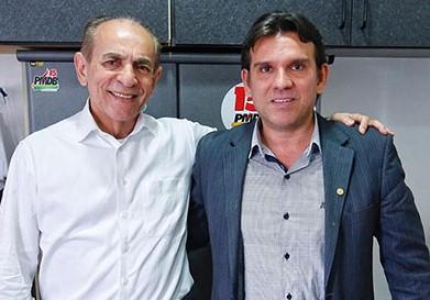 Marllos Sampaio e Rubens Alencar disputam o comando do MDB em Valença