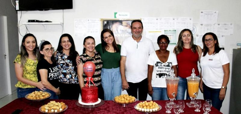 Nova profissional do Mais Médicos é recepcionada em Alagoinha do Piauí