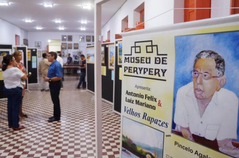 """Museu de PeryPery inicia calendário de eventos com exposição """"Velhos Rapazes"""""""
