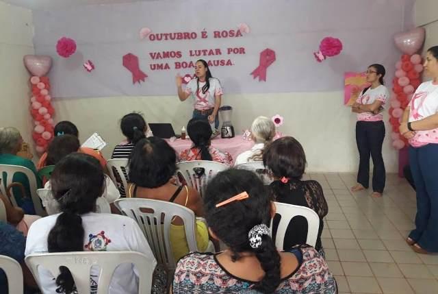 Atividades da campanha Outubro Rosa são encerradas em Isaías Coelho