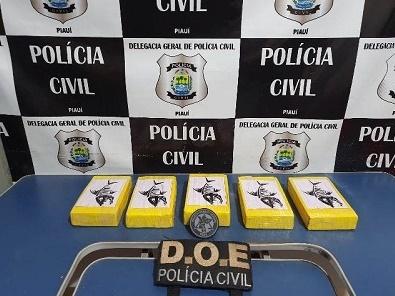 Homem é preso com cocaína durante abordagem em Picos