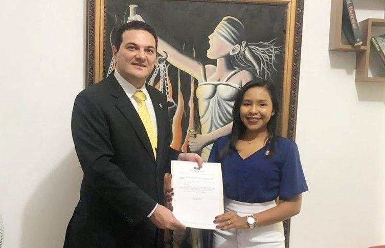 Capitão de Campos: Advogada Natalícia Maria é nomeada delegada da OAB