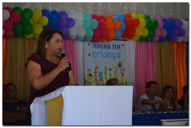 Lançamento oficial do Programa Criança Feliz em Inhuma