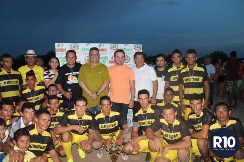 Final da Copa Zezé Bacelar foi realizada neste sábado em Pau D'arco