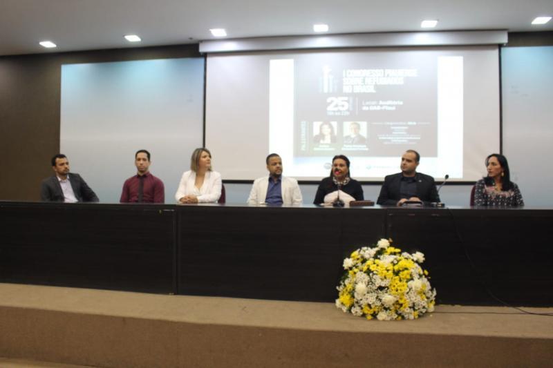 OAB-PI sediou o I Congresso Piauiense sobre Refugiados no Brasil