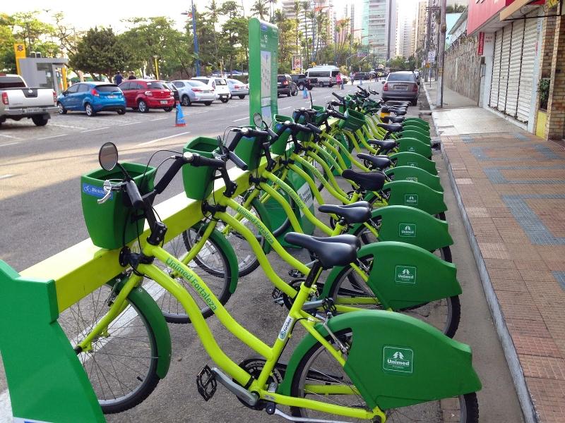 PMT estuda implantar bicicletas compartilhadas e estacionamento rotativo
