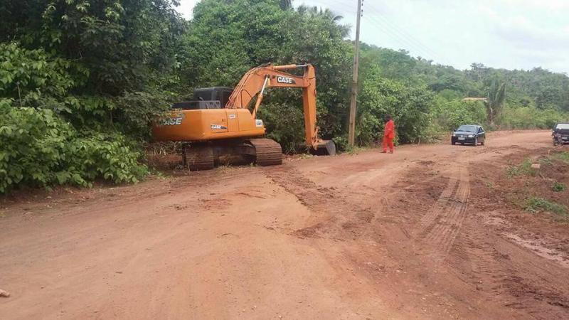 Obras de asfaltamento no povoado Campestre em Nazária estão em andamento