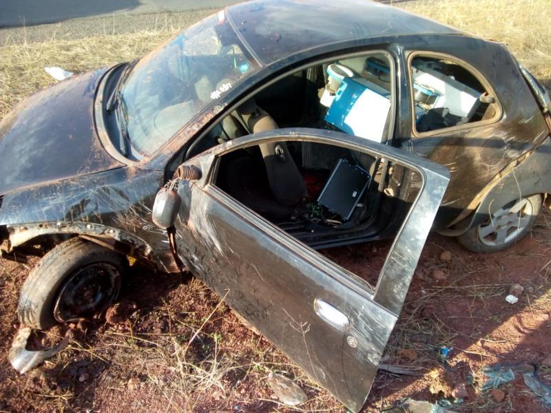 Veículo destruído