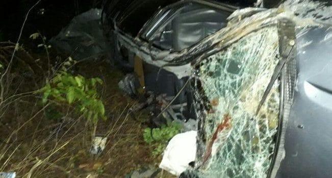 Grave acidente na BR-316 deixa duas pessoas feridas