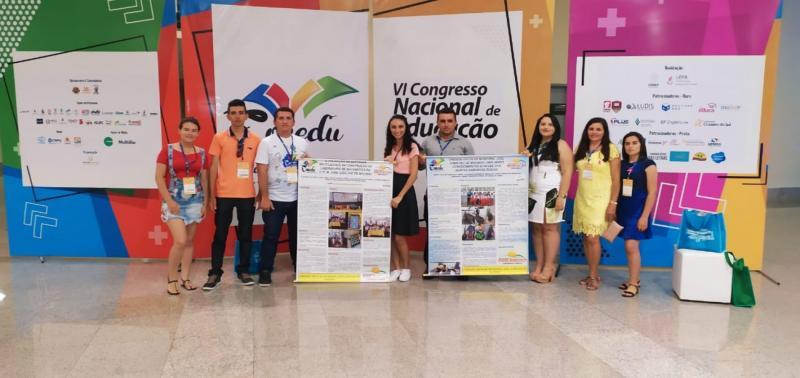 Professores de Padre Marcos participam de Congresso Nacional de Educação