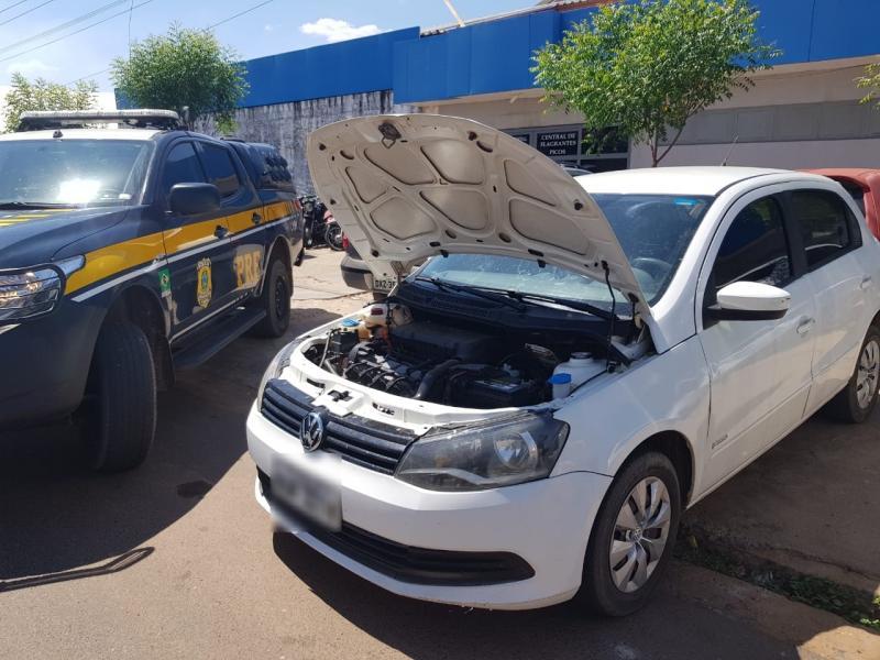 PRF prende jovem por receptação de veículo na BR 316