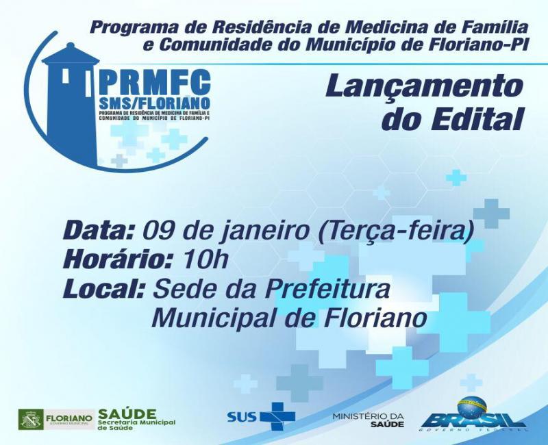 Secretaria de Saúde lança edital do Programa de Residência de Medicina de Família e Comunidade
