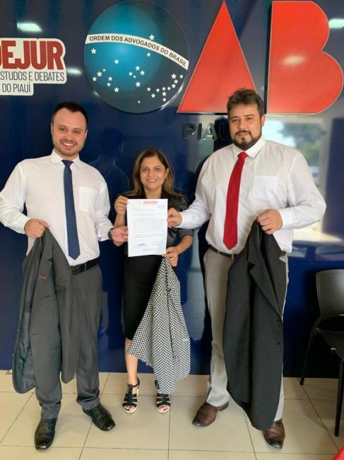 ANACRIM solicita à OAB-PI dispensa do uso de terno e gravata para advogados