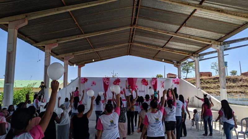 Secretaria de Saúde de Miguel Leão realiza o Dia D da Campanha Outubro Rosa