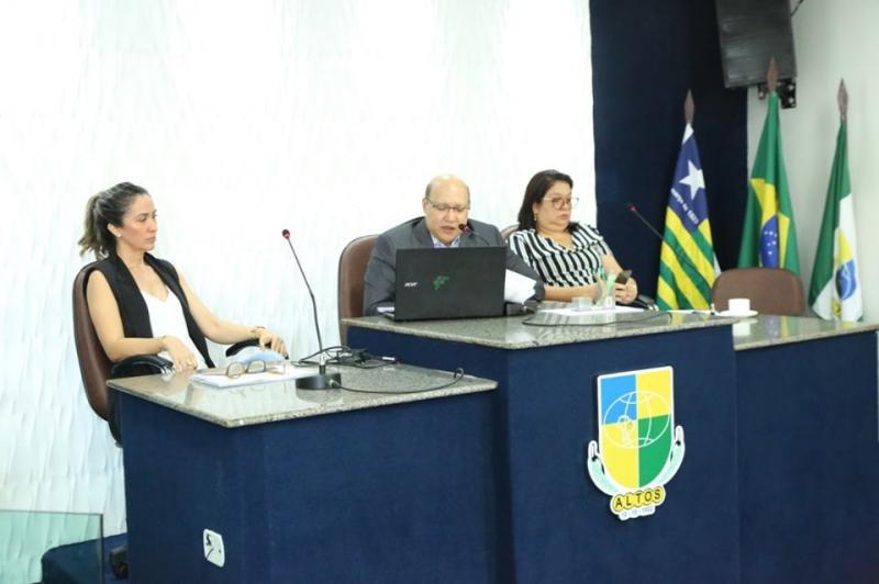 Prefeitura de Altos realizou audiência pública sobre Educação e Saúde