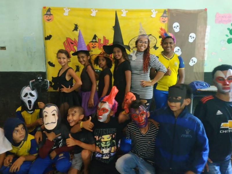 São Gonçalo – PI|U.E Jarbas Passarinho realiza projeto alusivo ao Halloween