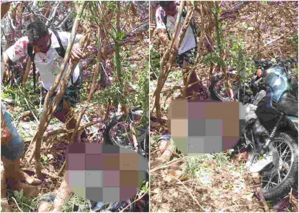 Redenção: Acidente de moto resulta em uma morte e deixa outro ferido PI-257
