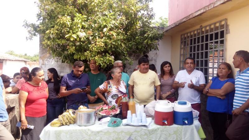 Erasmo Silva participa de reunião com a militância do PSDB e amigos