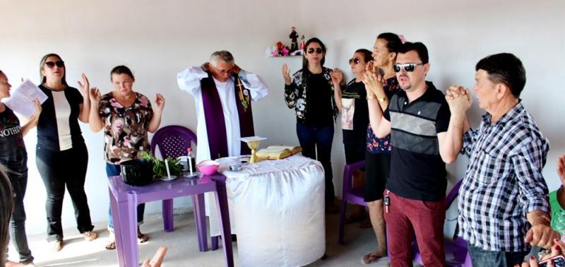 Em Alagoinha, missa de finados marca entrega de novo cemitério