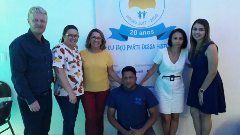 Francinópolis | Secretária e técnica participam de capacitação Selo Unicef