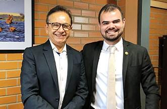 Vereador conta com apoio de deputado para pré-candidatura em Pio IX
