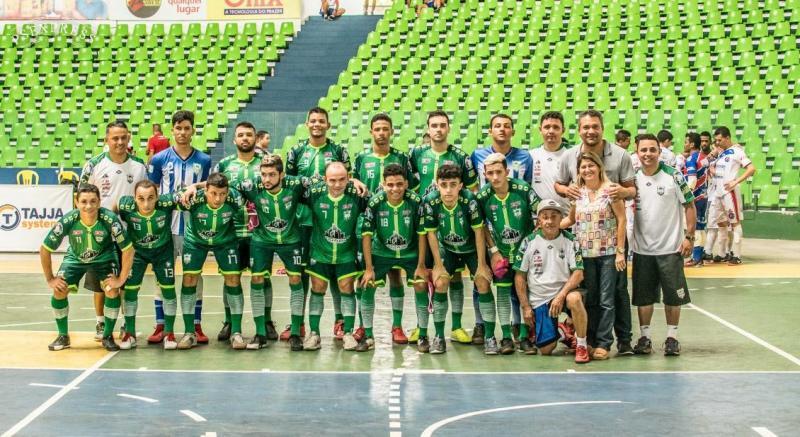Equipe Campo Largo Futsal (Foto: Aldo Carvalho)