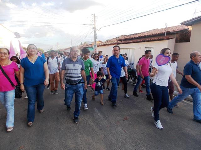 Barro Duro promove caminhada sobre Outubro Rosa, Novembro Azul e Aedes