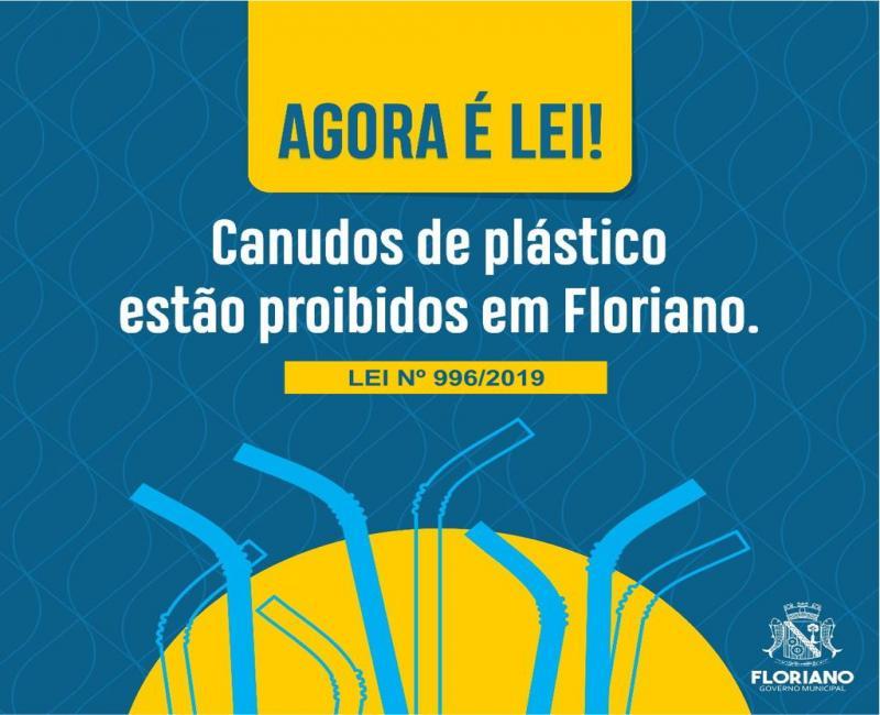 Lei proíbe uso de canudos de plástico em Floriano