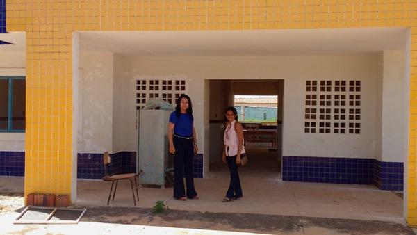 Prefeita Doquinha visita Creche Modelo e garante que a mesma vai funcionar no início das aulas