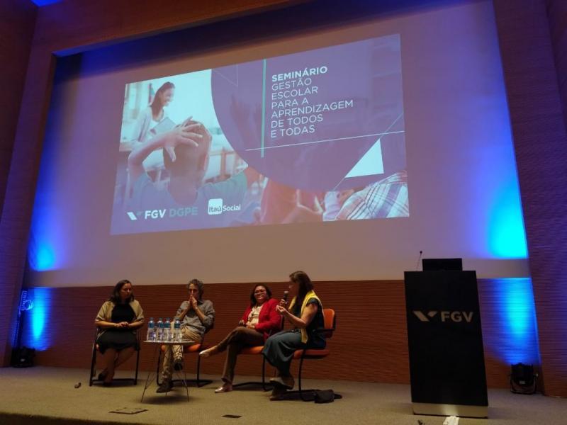 Oeiras participa de seminário sobre gestão escolar promovido pela FGV em SP