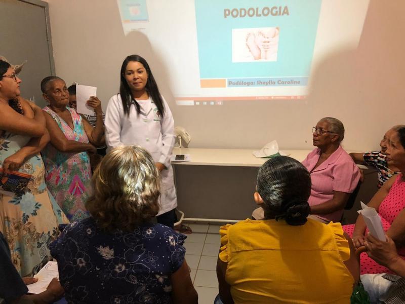 Prefeitura realiza atendimentos de podologia para os moradores do município