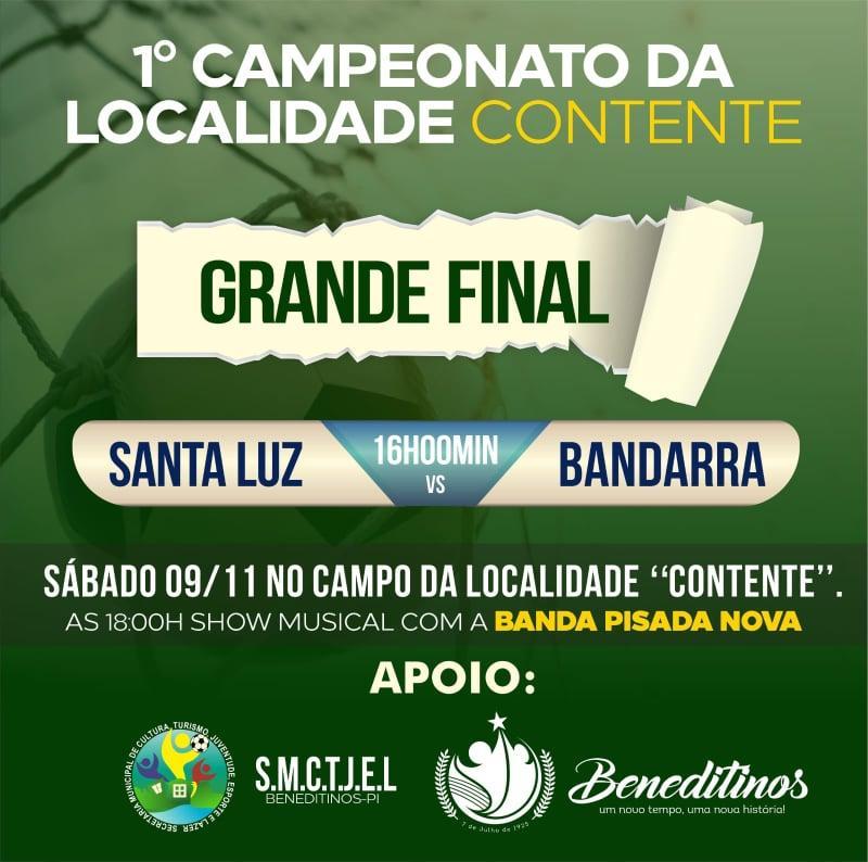 ESPORTES: Vem ai a grande final do campeonato rural do Contente