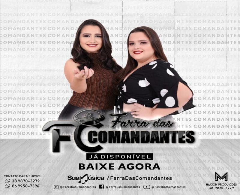 Farra das Comandantes lança primeiro cd promocional na plataforma digital
