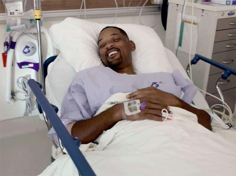 Will Smith remove pólipo pré-canceroso em colonoscopia