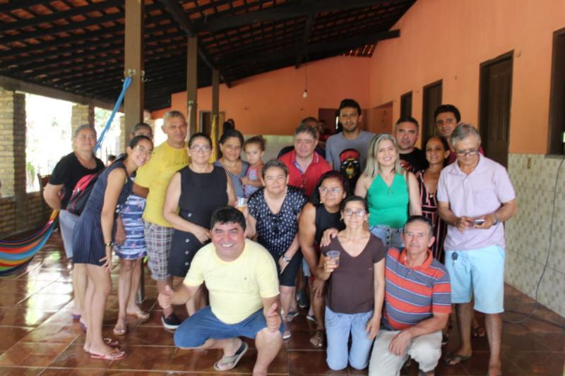 Pré-candidato a prefeito Erasmo Silva participa de almoço na zona rural