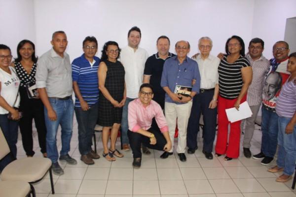 Chico Leitoa reúne-se com PDT-PI visando fortalecimento para 2020