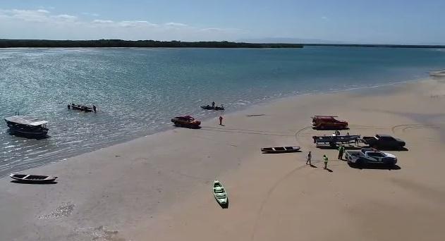 Operação verifica se há óleo no estatuário do Rio Carpina no Piauí