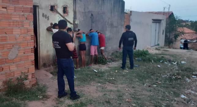 Policia Civil prende membros de facção em Timon