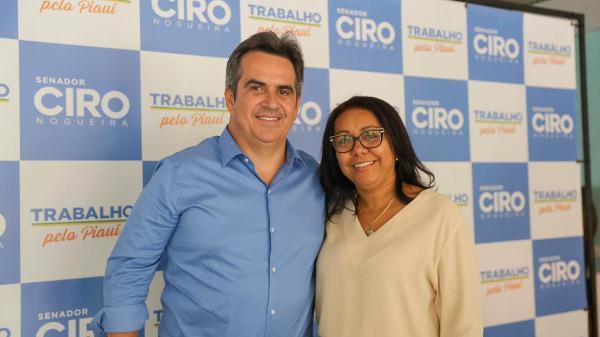 Prefeita Doquinha esteve em audiência com o Senador Ciro Nogueira