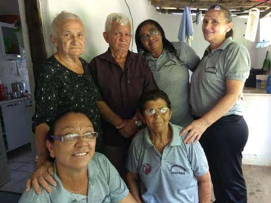 Conselho Municipal faz visita aos idosos de Colônia do Gurgueia