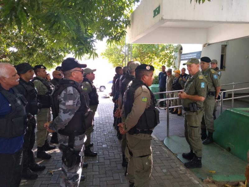 510 agentes fazem a segurança nos locais de prova do Enem no PI