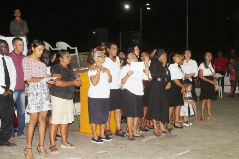 Igreja Trás Show Gospel Com Wellington Camargo
