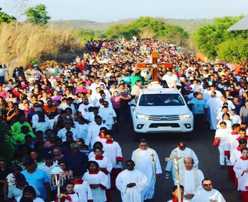 Festejo do Encontro dos Santos Reúne cerca de 30 mil pessoas em Santa Cruz