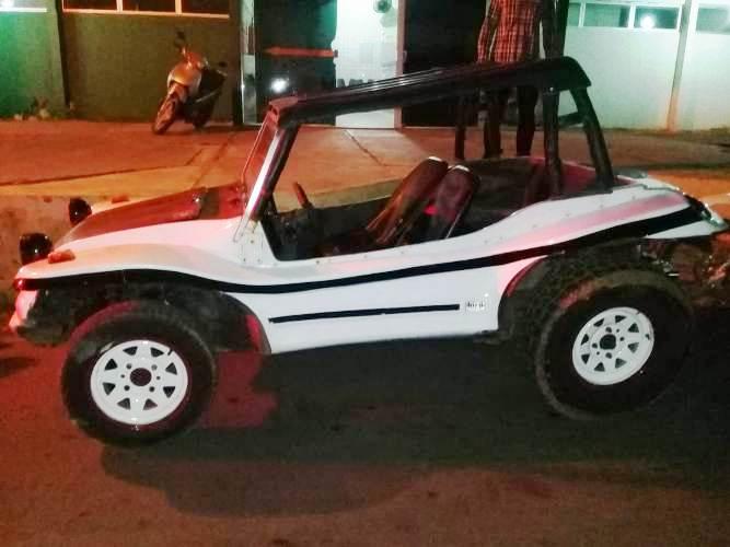 Dupla é presa após usar um Buggy para praticar assaltos em Campo Maior