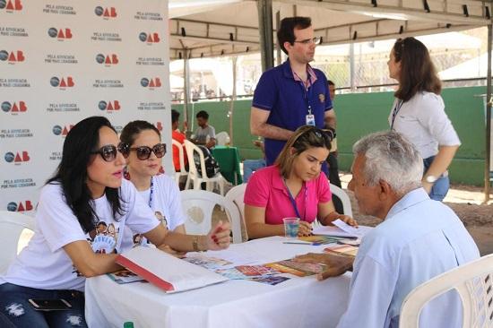 OAB Piauí presta esclarecimentos jurídicos durante evento em Teresina