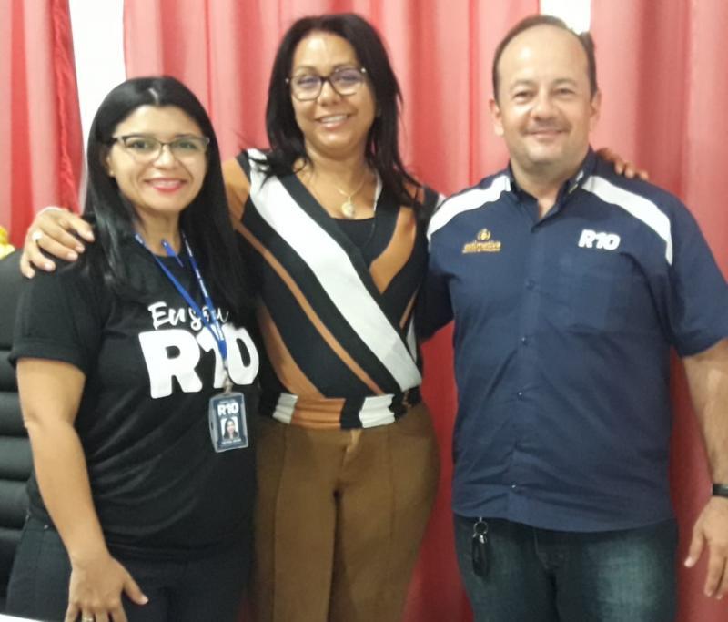 Equipe R10 visita o município de Colônia do Gurgueia