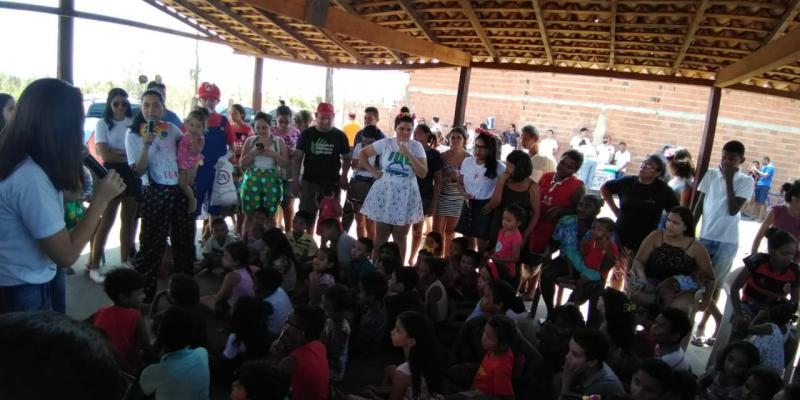 Grupo Colorindo Corações promove ações em Teresina