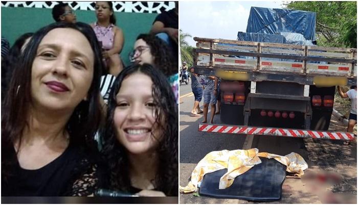 Adolescente morre e mãe fica ferida em acidente na BR-010