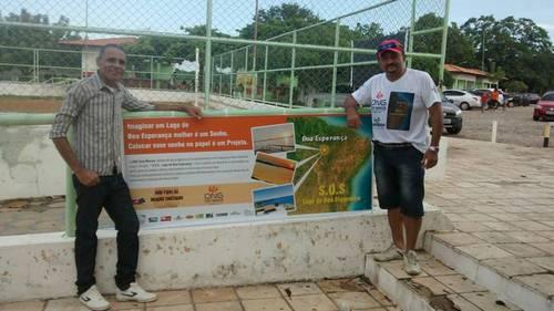 ONG Tony Marcos desenvolve atividades no S.O.S Lago de Boa Esperança
