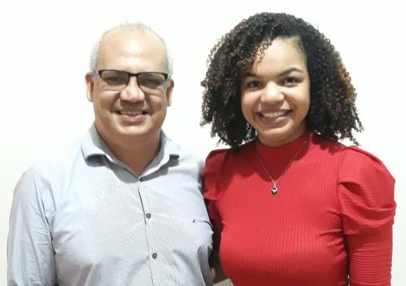 Vereador Manoel Filho e Katy Samara